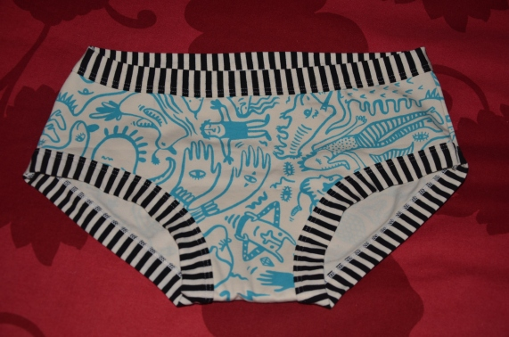 My brand new Thunderpants knickers!
